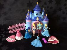 Disney Magiclip & Polly Pocket Princess Doll - Cinderella Playset & Dolls