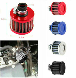 12MM Mini Cone Cold Air Intake Filter Breather Car Racing Crank Case Turbo Vent