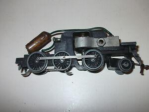 Hornby Dublo N2 3 rail tank locomotive chassis runs ok or older LMS type part