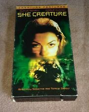 She Creature VHS Stan Winston Lou Selig Colleen Camp Rare Horror Mermaid Tested