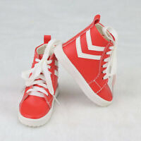 1//3 bjd SD13 SD10 girl doll red color flat shoes dollfie dream ship US