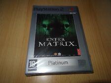 Enter The Matrix Platinum Com PlayStation 2 Ps2 PAL VGC