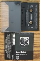Van Halen - Women And Children First Cassette Free Shipping In Canada