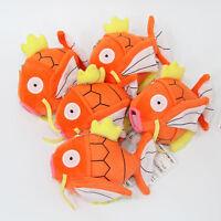 "Pokemon Center Go Plush Toy Magikarp Fish 5"" Fluffy Stuffed Animal Doll Gift"