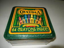 New Crayon tin with crayons 90th Anniversary Tin, with 64 crayons