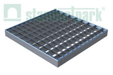 Standartpark - 12x12 Galvanized Stamped Steel Grate - Zinc Coated