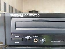 More details for tascam cd-rw700