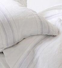 Rachel Ashwell Shabby Chic Couture Venetian Stripe Linen Fabric by Yard Grey