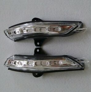 Pair of Side View Mirror Turn Signal Light Lamp for Chevrolet Malibu 13 14 15