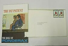 Gibraltar 1972 Royal Engineers Pair Cover Come and Enjoy our Sun Ponderax Advert