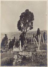 Turquie Constantinople Cimetière Eyoub Photographie n1 Vintage Argentique 1919