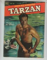 Tarzan 19 VG+ (4.5) 2/51 Dell! Lex Barker photo cover! 52 pages!