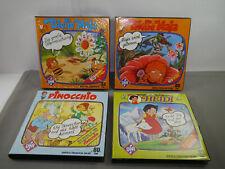 4 X Super 8 Films Heidi Pinocchio 2 X Maya L'Abeille (Coloris Ton) Ufa (K74)