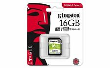 Original Kingston 16GB SD Flash Memory card for Panasonic Sony Camcorder