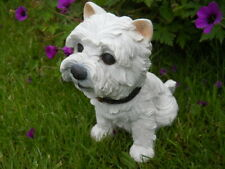 Latex mould of a West Highland Terrier