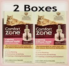 Comfort Zone (2 Boxes) Calming Diffuser Refill For Cats & Kittens Nib