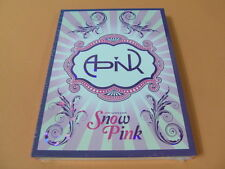 APINK - Snow Pink (2nd Mini Album) CD w/Photo Booklet K-POP