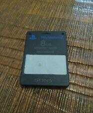 Carte mémoire officielle PS2 - Sony Playstation 2 - Noire