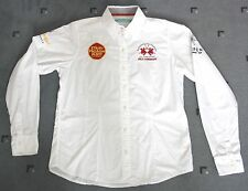 "LA MARTINA ""50 JAHRE CLUB ROTES KLIFF KAMPEN SYLT"" BLUSE Gr.2 M LIMITED EDITION"