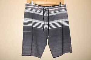 """Hurley Hommes 34 """" Taille Recycleur 8% Élasthanne Boardshorts/ Surf/ Natation"""