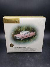 "Dept 56 ""1955 Pink Cadillac"" Fleetwood Ornament #56.98791 New in Box"