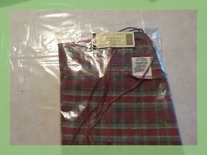 Longaberger Large Wrap It Up Liner Holiday 23634293 New In Plastic 2008 1 Day Sh