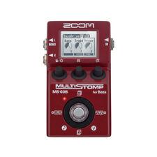 Zoom MS-60B MULTISTOMP Bass Guitar Multi-Effects Amp Simulator Pedal