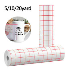 5/10/20YD Adhesive Vinyl Transfer Tape for Cricut Silhouette Decals Sign Sticker
