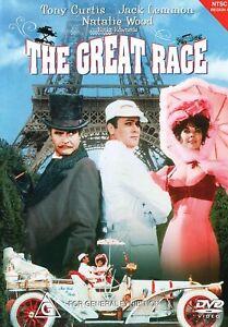 "THE GREAT RACE (2005: DVD) BRAND NEW / SEALED ""REGION 4"" NTSC"