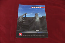 Car Brochure: Vauxhall Astra Convertible - 1990 (Includes 1.6 & GTE)