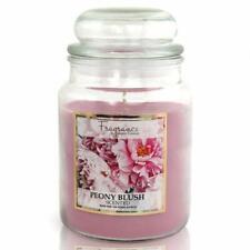 Fragrance Peony Blush Scented Jar Candle 18oz