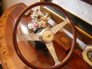 "Bentley Turbo R Wood Steering Wheel  1985 - 1989 NARDI 15"" engraved spokes NEW"