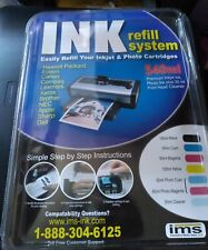 IMS Ink Refill System 540ml Premium Quality Easy Fill Inkjet~Photo Sealed USA