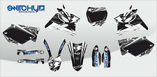 KIT ADESIVI GRAFICHE INSTINCT BLACK YAMAHA YZ 125 250 2002 2003 2004