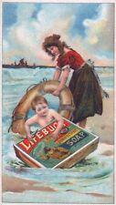 Lifebuoy Soap3 Vintage Advertising Art Print / Poster