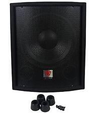 "Rockville SBG1128 12"" 600 Watt Passive Pro DJ Subwoofer, MDF Cabinet/Pole Mount"