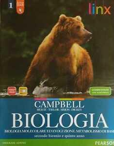 biologia 1 scienze licei e mag.= campbell/reece 9788863641189