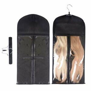 Hair Extension Hanger Anti-slip Hair Extension Holder Portable Protection Bag
