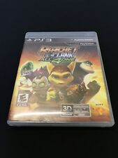 Ratchet & Clank: All 4 One (Sony PlayStation 3, 2011) See Description A015