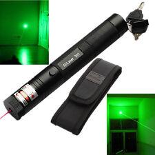 10 Mile Military Best Green 1mW 532nm Laser Pointer Pen Light Focus Visible Beam