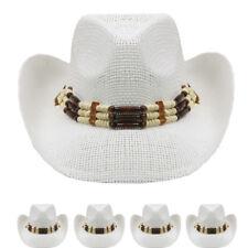 COWBOY HAT Western WHITE HAT Cap Cowgirl Cap MEN HAT Rodeo WOMEN