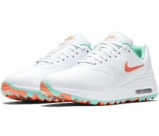 Nike Air Max 1 G Hot Punch/ Aurora Green Golf Shoes British Open 2019 Size 10.5