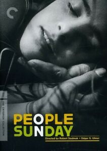 CRITERION COLLECTION: PEOPLE ON SUNDAY NEW DVD