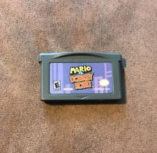 Mario Vs Donkey Kong Nintendo Game Boy Advance GBA ~ Fast Shipping! ~ Authentic!