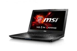 PC Notebook GAMING Msi Gl62 Difettoso + mouse e tastiera Razer I7 7700HQ gamer
