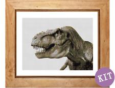Tyrannosaurus Rex - Dinosaur Cross Stitch Kit