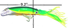 SQUID JIG TROLLING FISHING LURE SALT WATER BARRACUDA BONITO SKIPJACK YELLOWTAIL