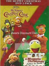 disney ~ THE MUPPET CHRISTMAS DVD 2 - PACK ~ new/sealed