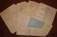 Lot of University of Tennessee Memorabilia/Late 1930s/B