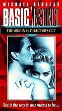 Basic Instinct (VHS, 1997, Original Directors Cut)